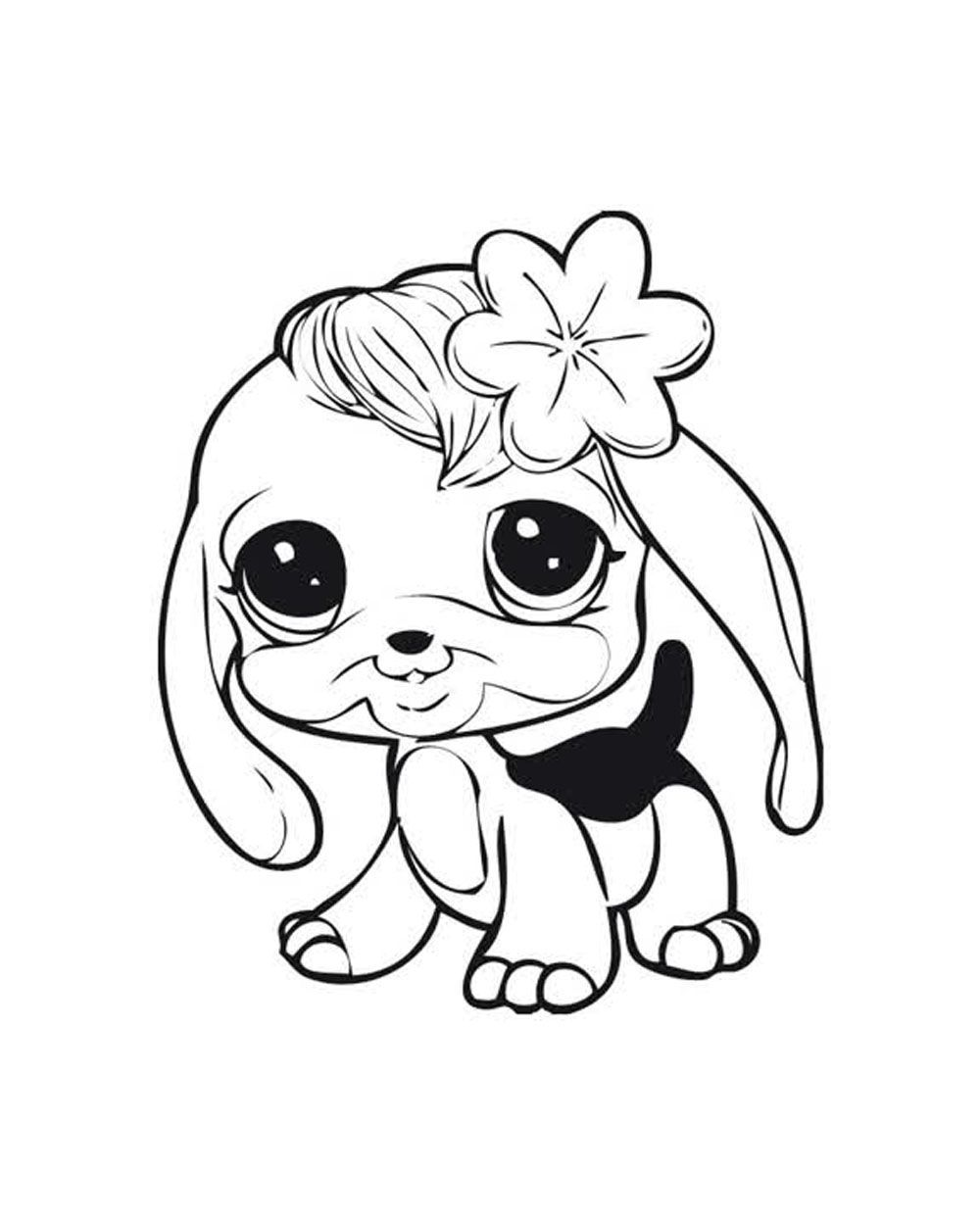 little pet shop coloring page - my little pet shop coloring pages free coloring home