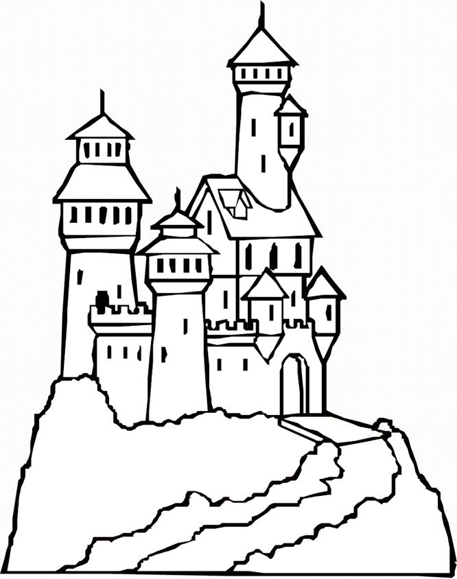 Free Printable Lego Castle Coloring Pages Coloring Home - Lego-castle-coloring-pages
