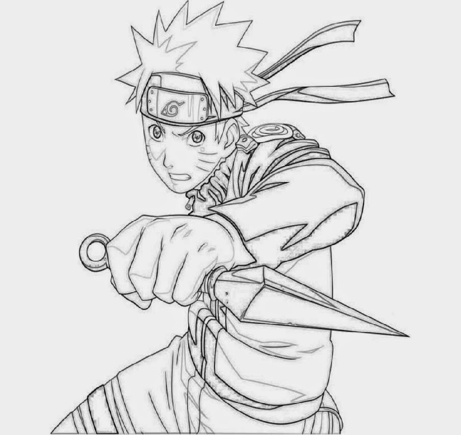 Naruto Coloring Pages Pdf : Naruto coloring sheets free sheet home