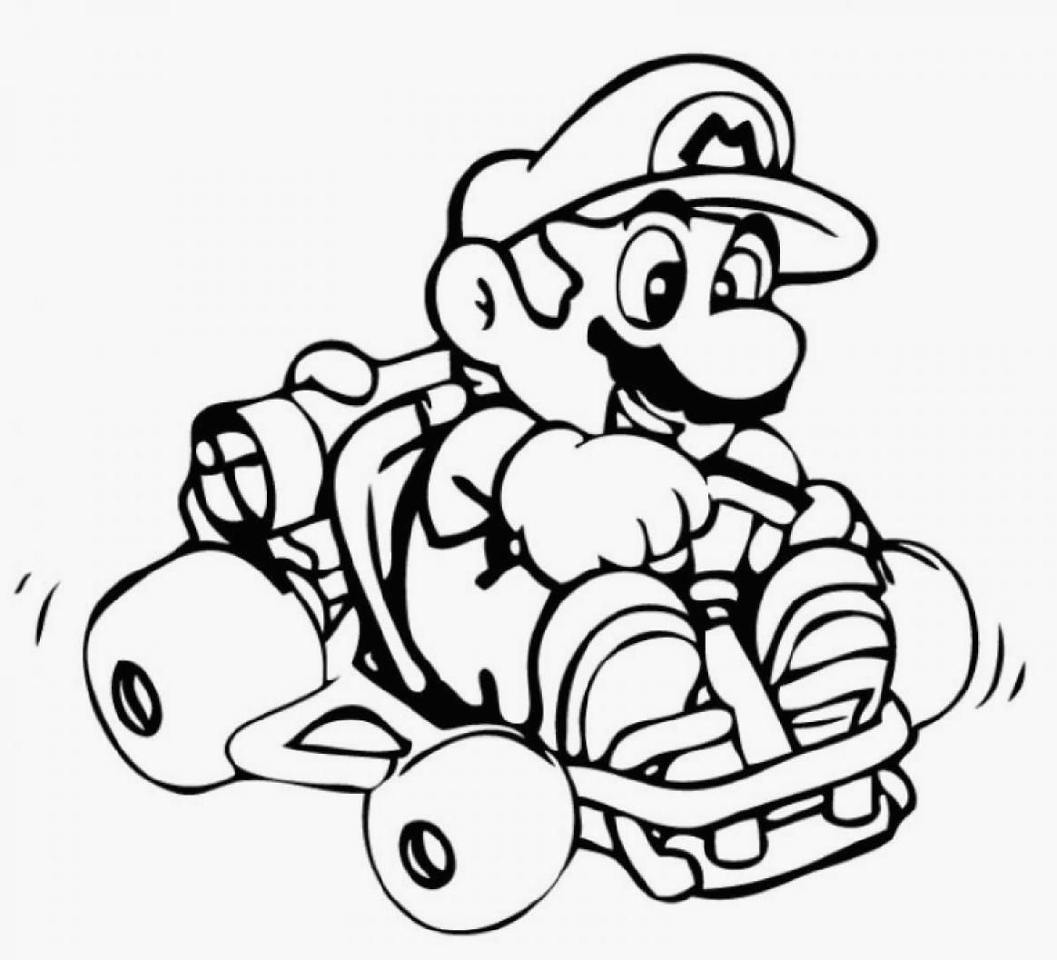 18 Free Pictures for: Mario Coloring Pages. Temoon.us