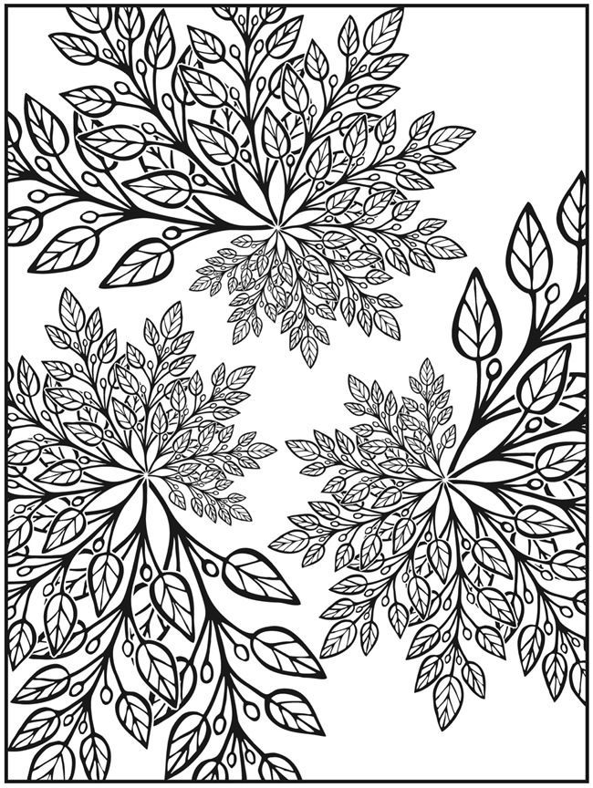 Downloadable Coloring Pages For Adults
