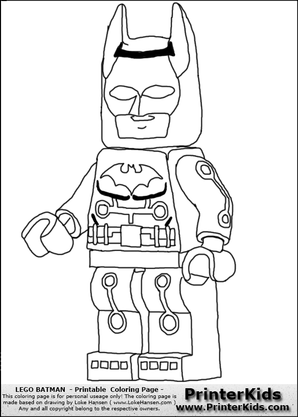 lego city coloring pages batman - photo#25