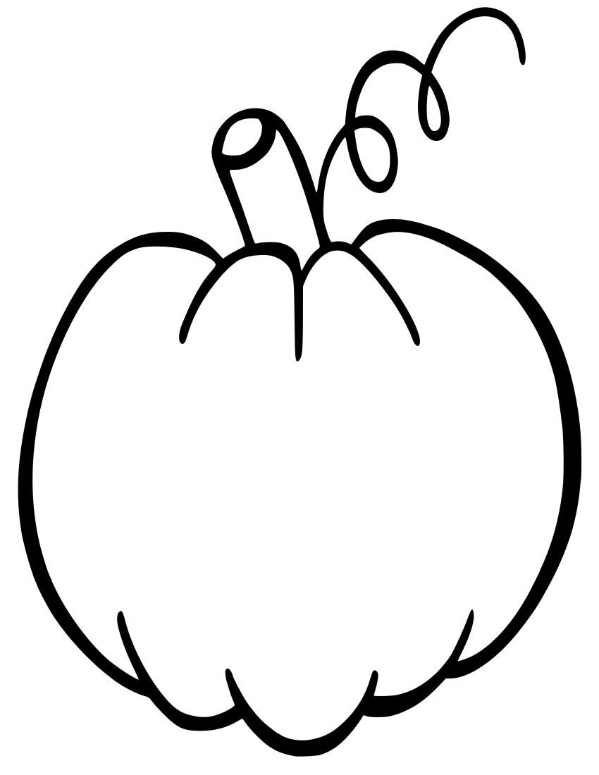 pumpkin clip art free black and white - photo #46