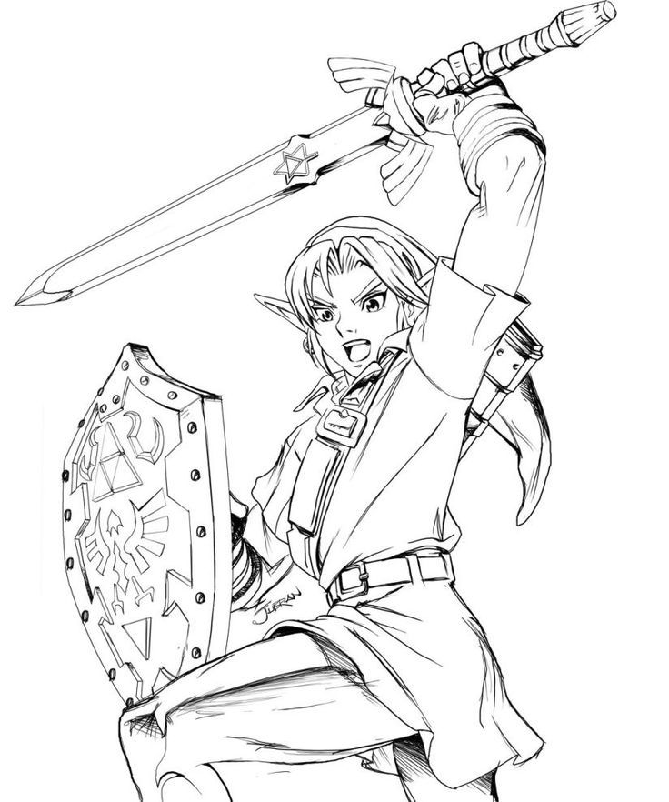 coloring pages | Zelda, Coloring ...