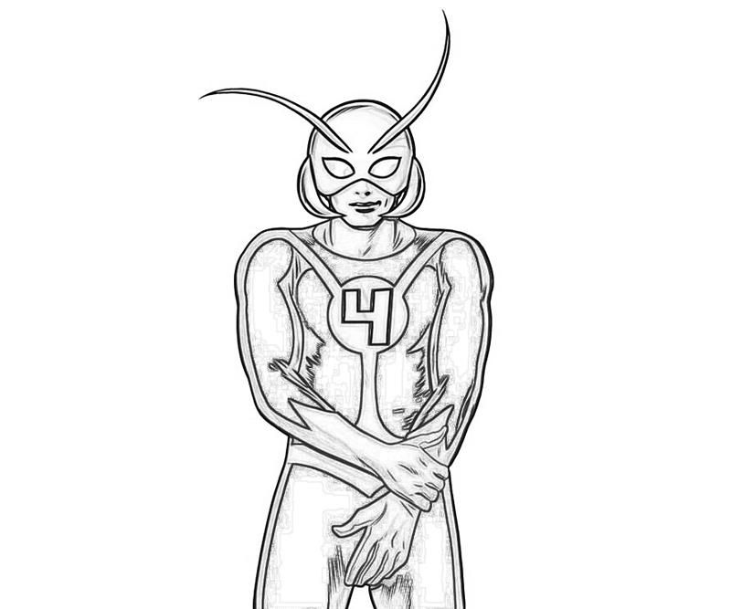 10 Pics Of Marvel Ant Man Coloring Pages Ant Man Coloring Pages