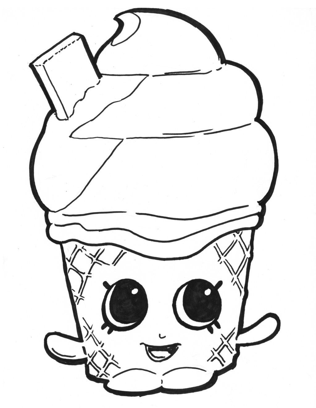 Shopkin Coloring Pages To Color