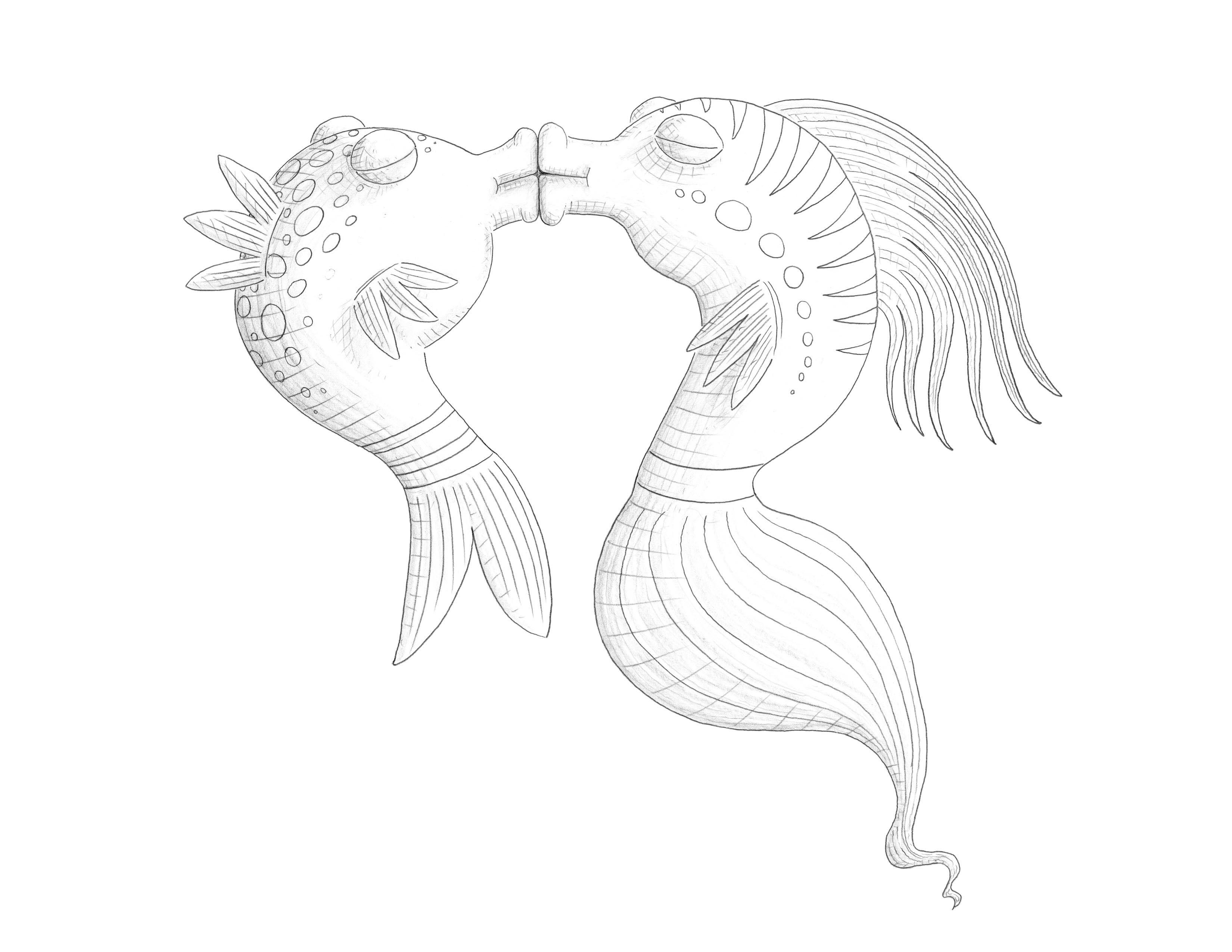 7 pics of pout pout fish coloring pages pout fish coloring pages