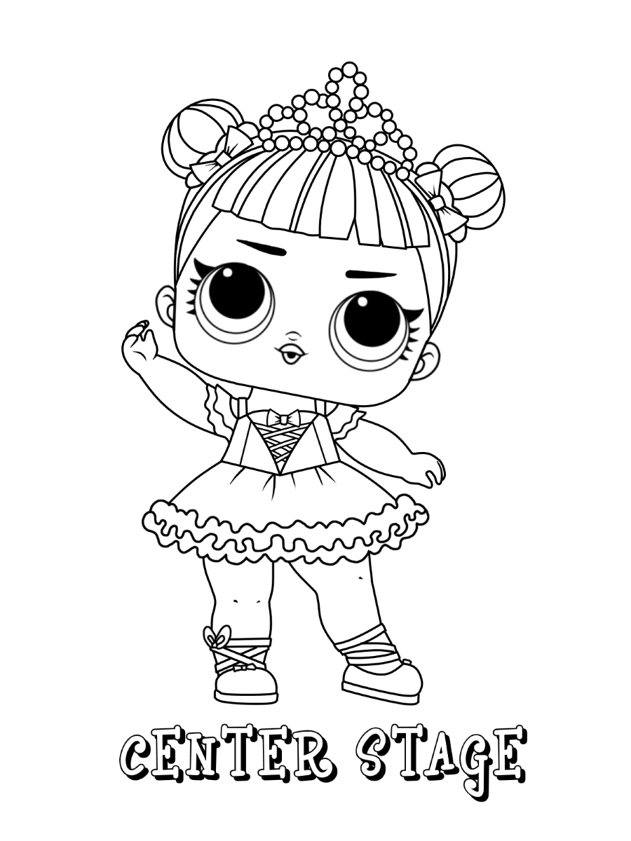 LOL Surprise Dolls Coloring Book Compilation Teachers Pet Dusk ... | 1200x900