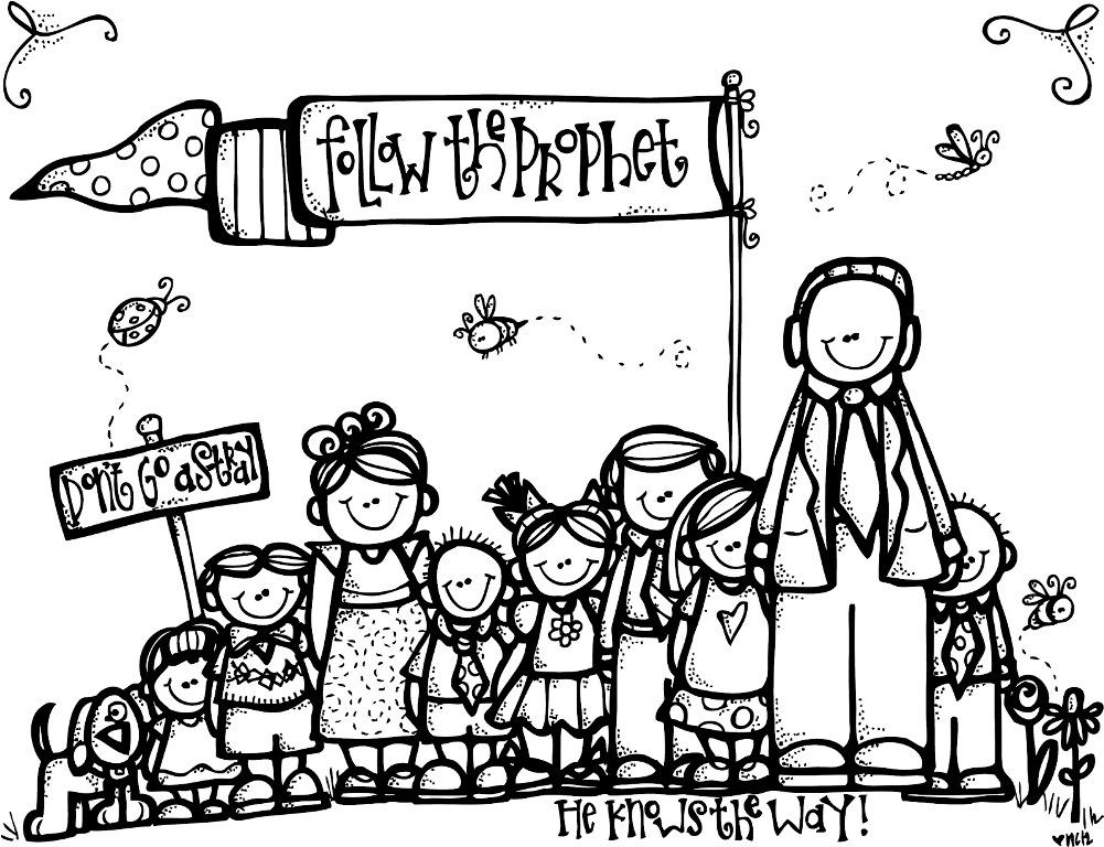 missionaries coloring pages - photo#26
