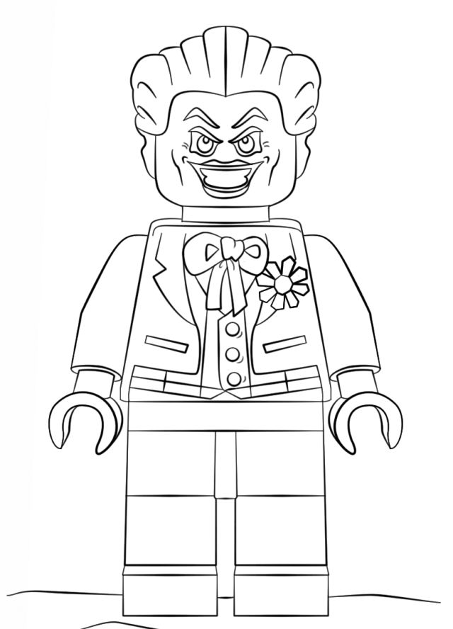 The Lego Batman Movie Coloring Pages | Lego coloring pages ...