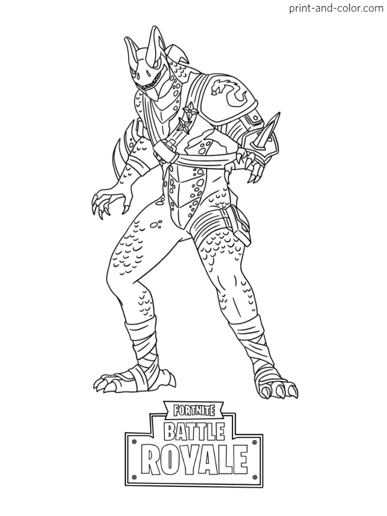 Fortnite Coloring Pages - Coloring Home