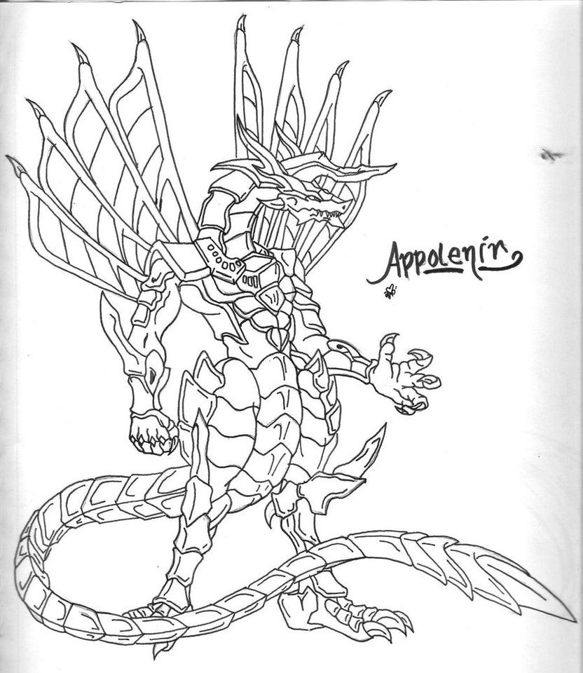 bakugan alpha hydranoid coloring pages - photo#18