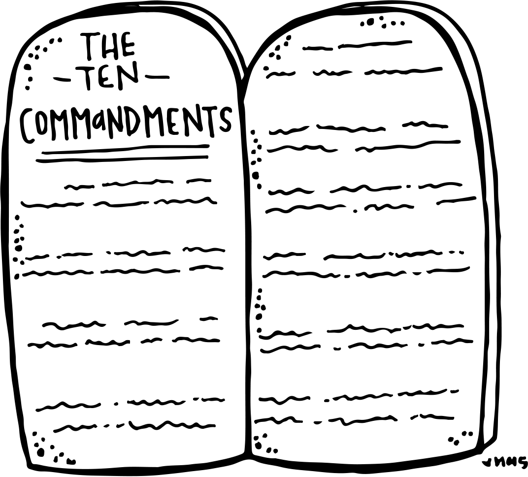 10 commandments lds coloring page az coloring pages for Free printable ten commandments coloring pages