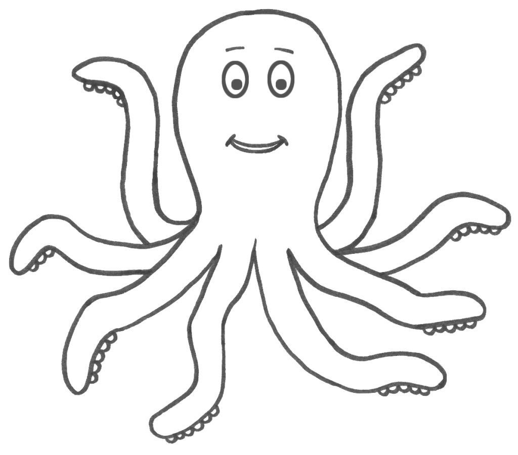 henry the octopus coloring pages - photo#6