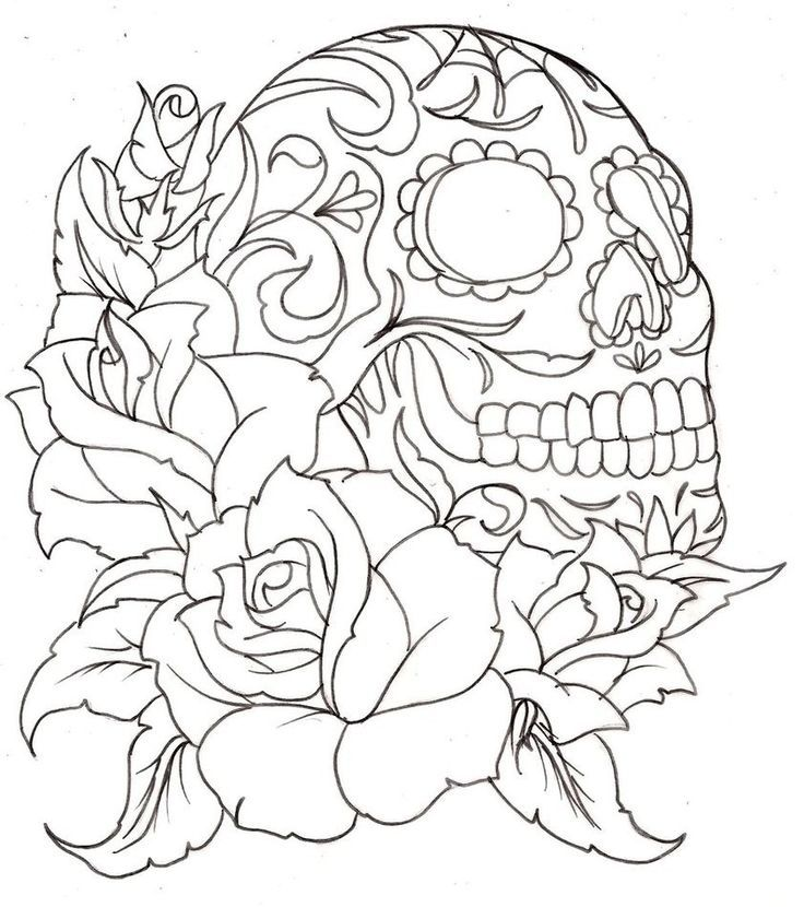 coloring pages black lilac kitty cozy book corner day of the dead ...