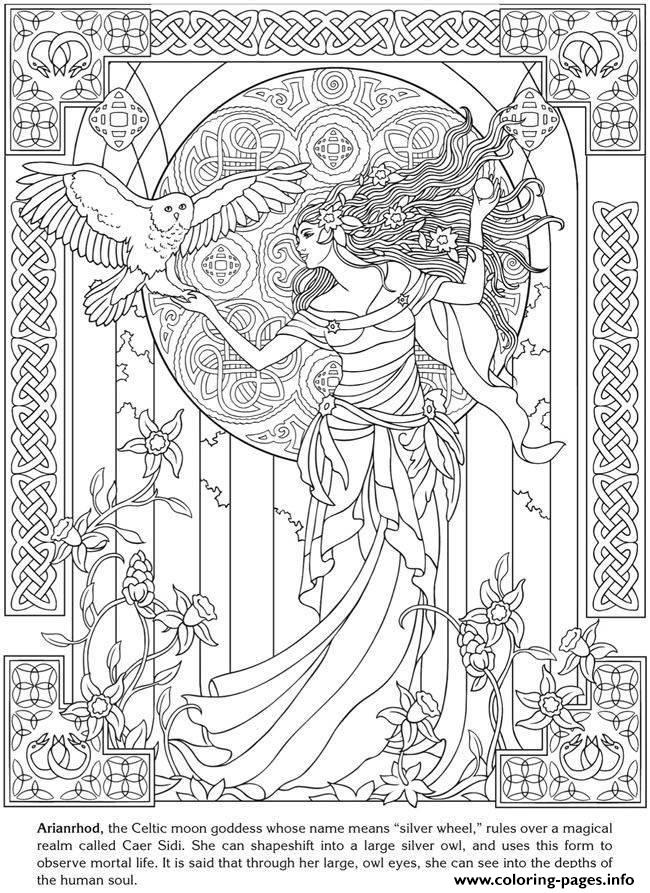 celtic adult coloring pages - photo#14