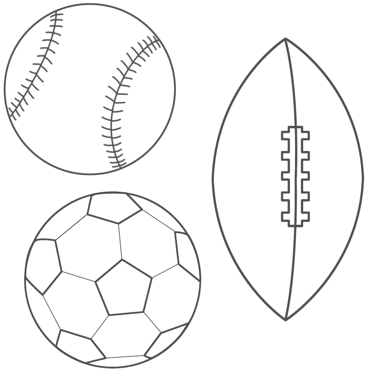 - Sports Balll Coloring Pages - Coloring Home