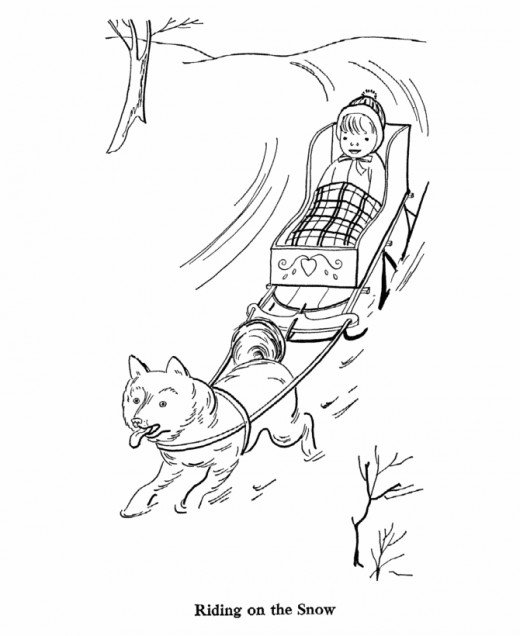 free snowbuddies coloring pages - photo#7