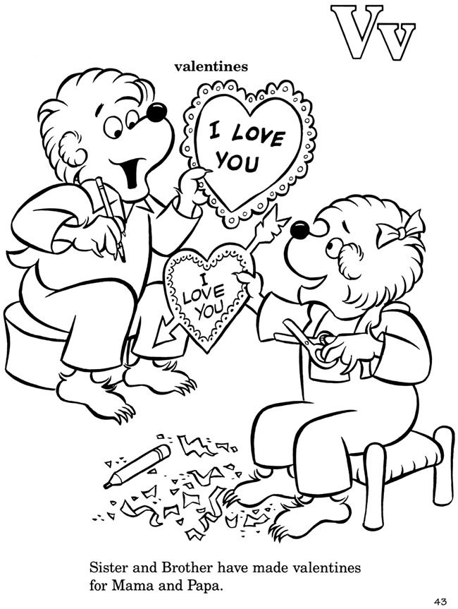 berenstain bears coloring page  az coloring pages, coloring