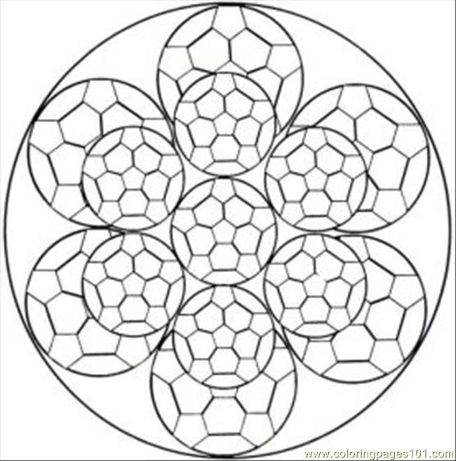 free kalediscope coloring pages - photo#21