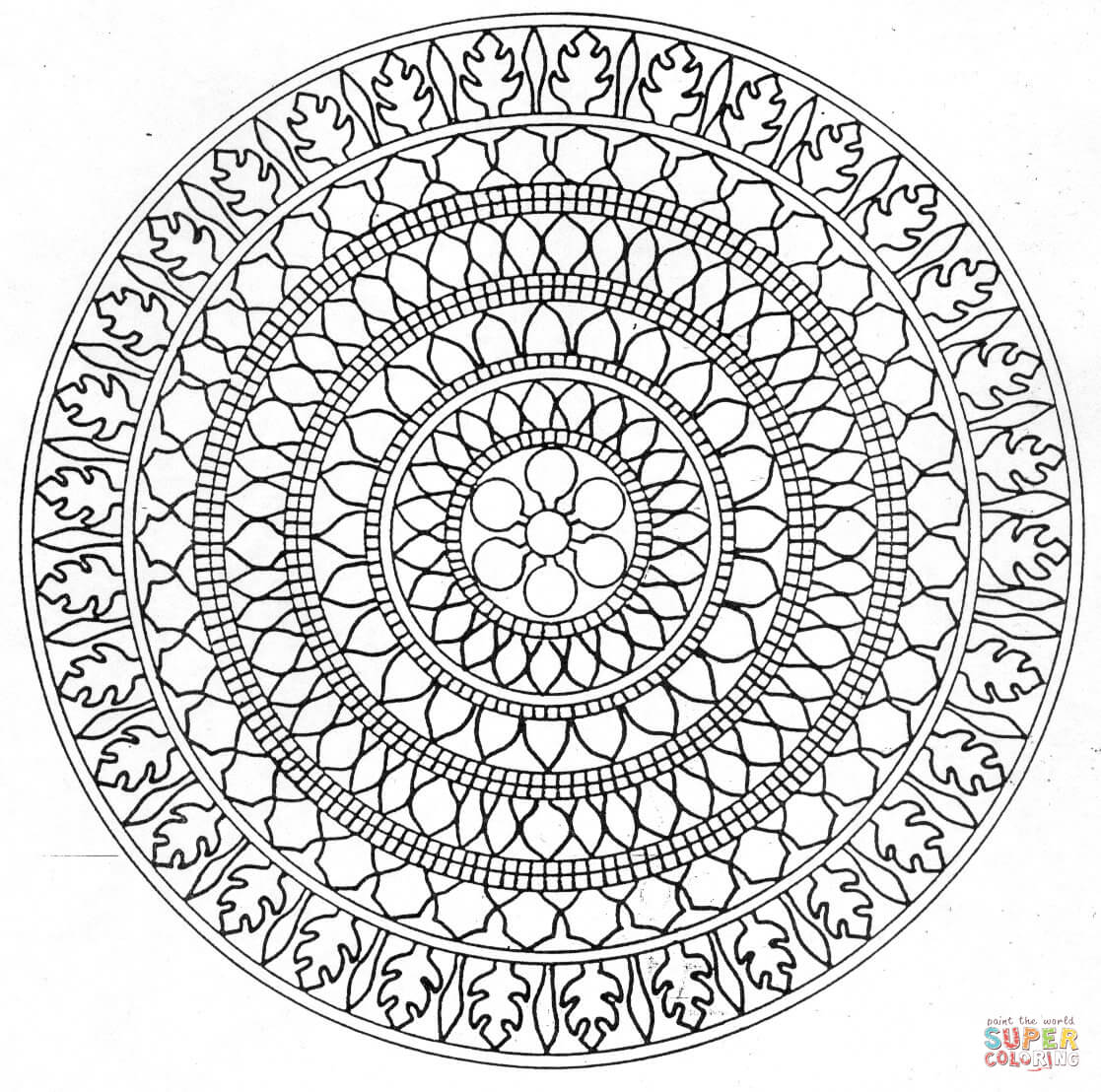 Relaxing Coloring Pages Coloring
