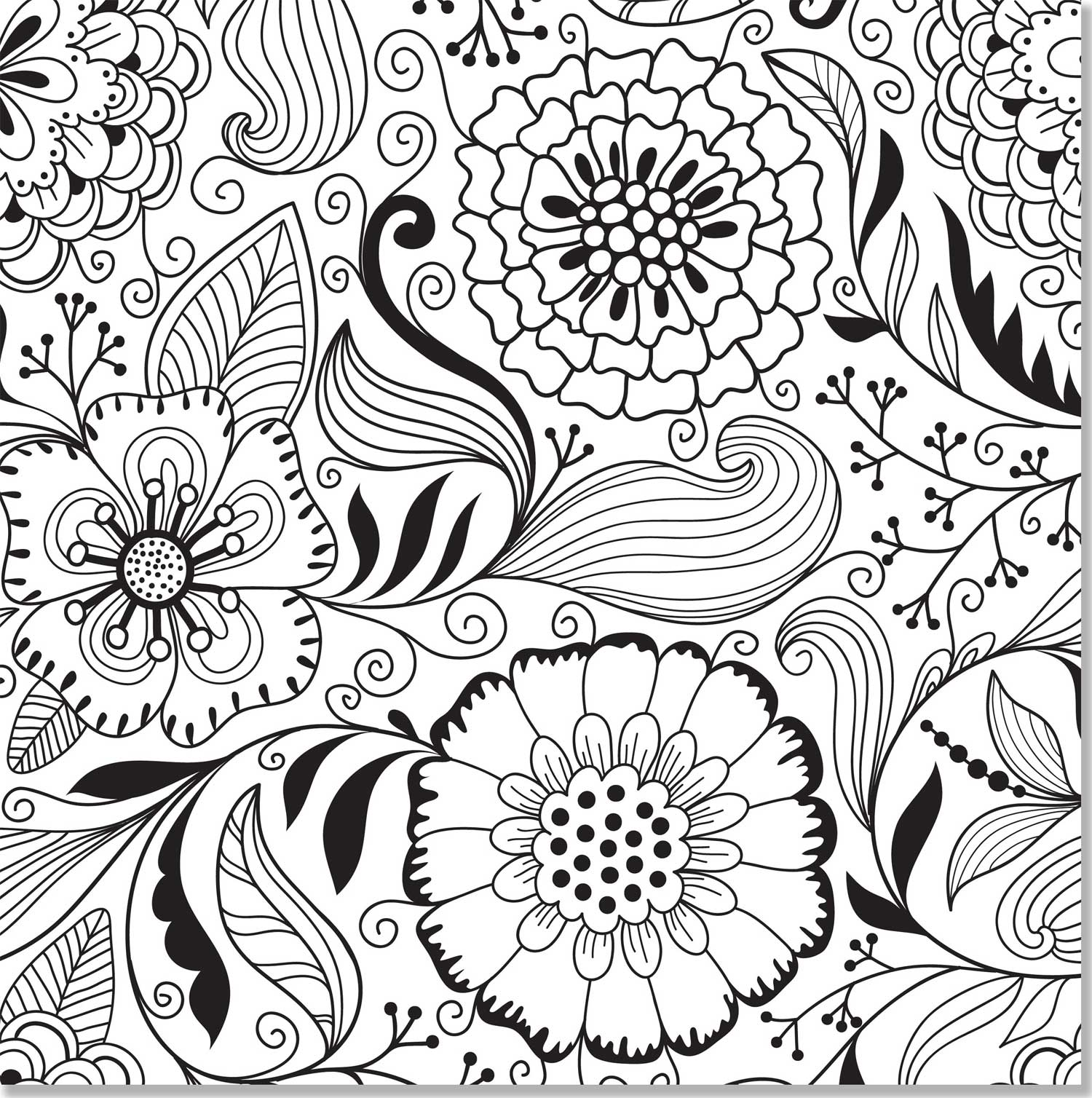 Coloring pictures free printable adult - Free Coloring Pages For Adults To Print Image 6 Voteforverde Com