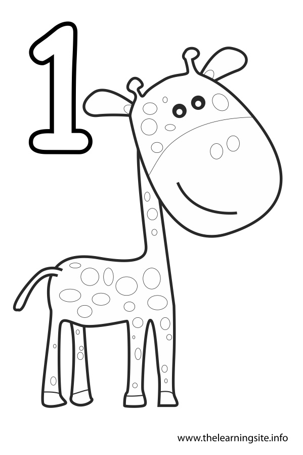 number 1 coloring pages - photo#2
