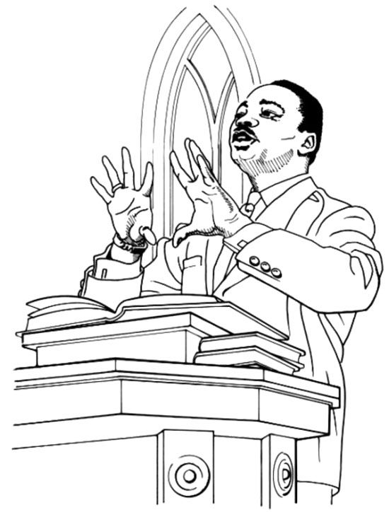 childrens coloring pages martin luther - photo#16