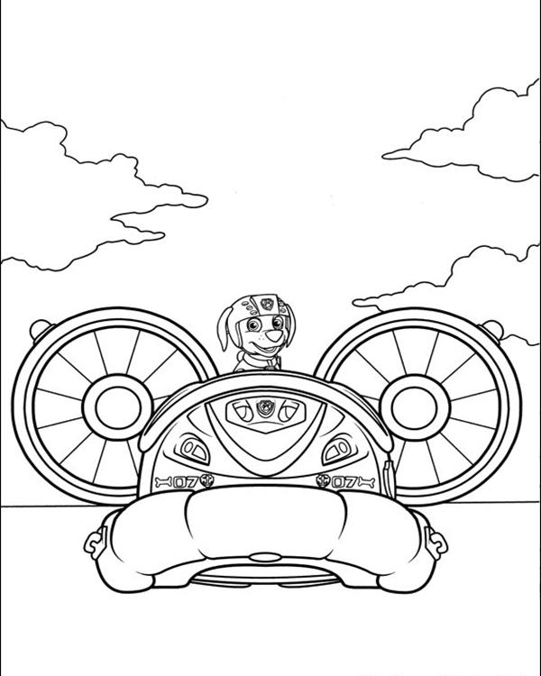Coloring Pages Paw Patrol Zuma : Paw patrol coloring pages home