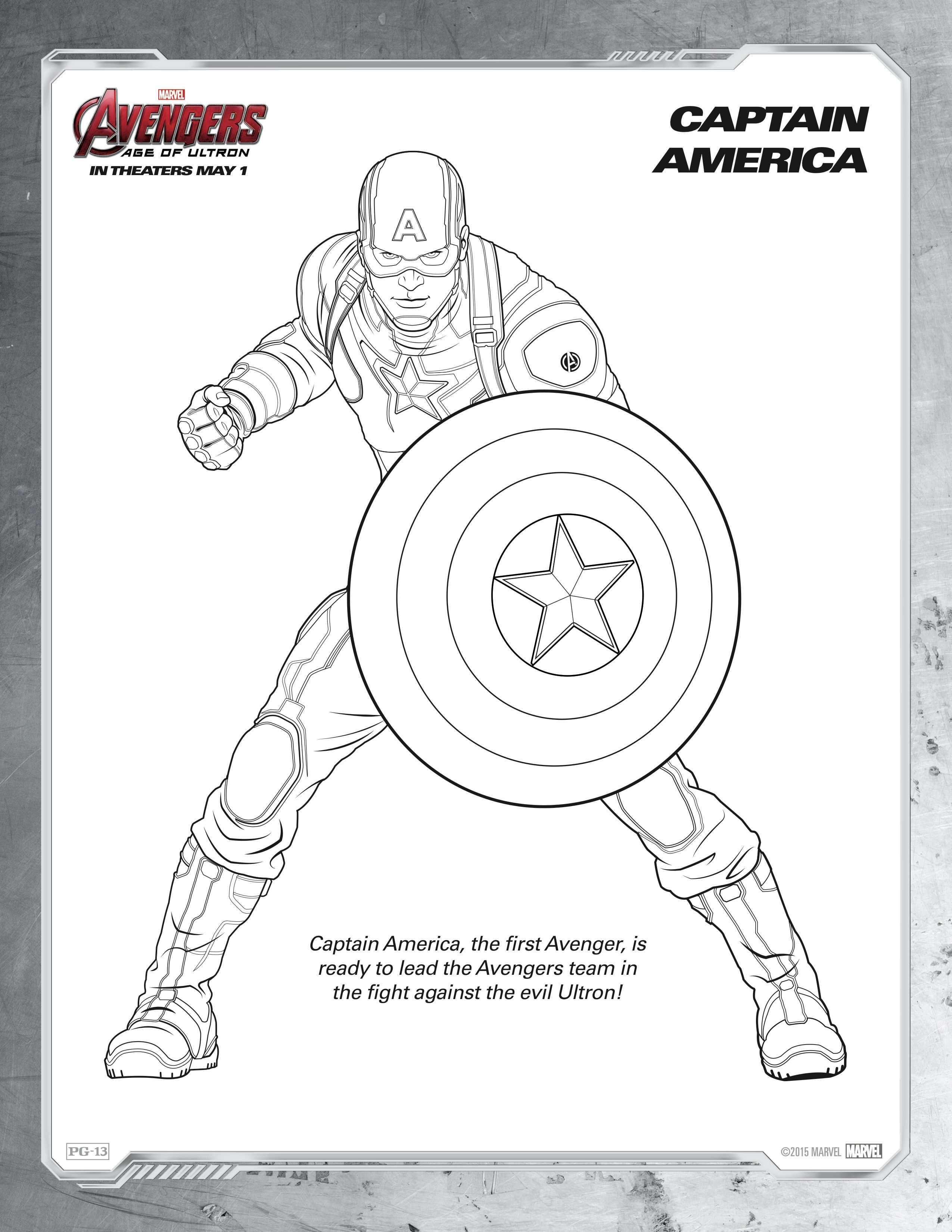 Ultimate Avengers Coloring Pages :