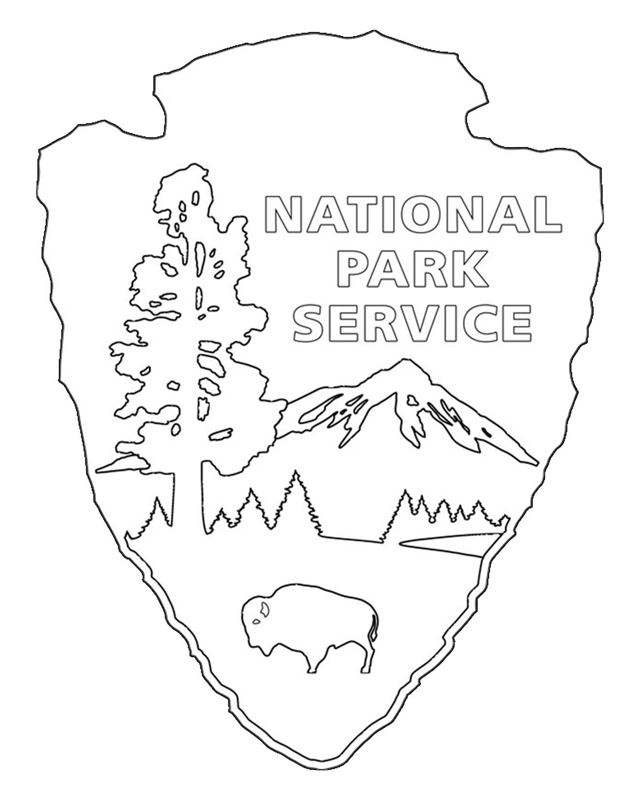 forest ranger coloring pages - photo#6