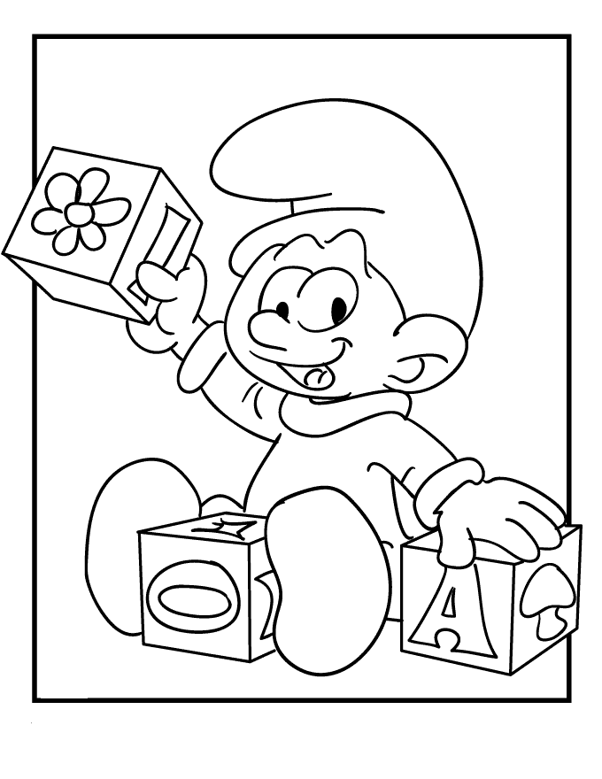 Smurfs Coloring Pages Free Printable Download | Coloring Pages Hub