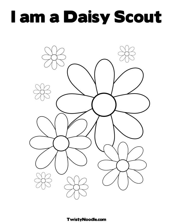 daisy girl Colouring Pages (page 2)