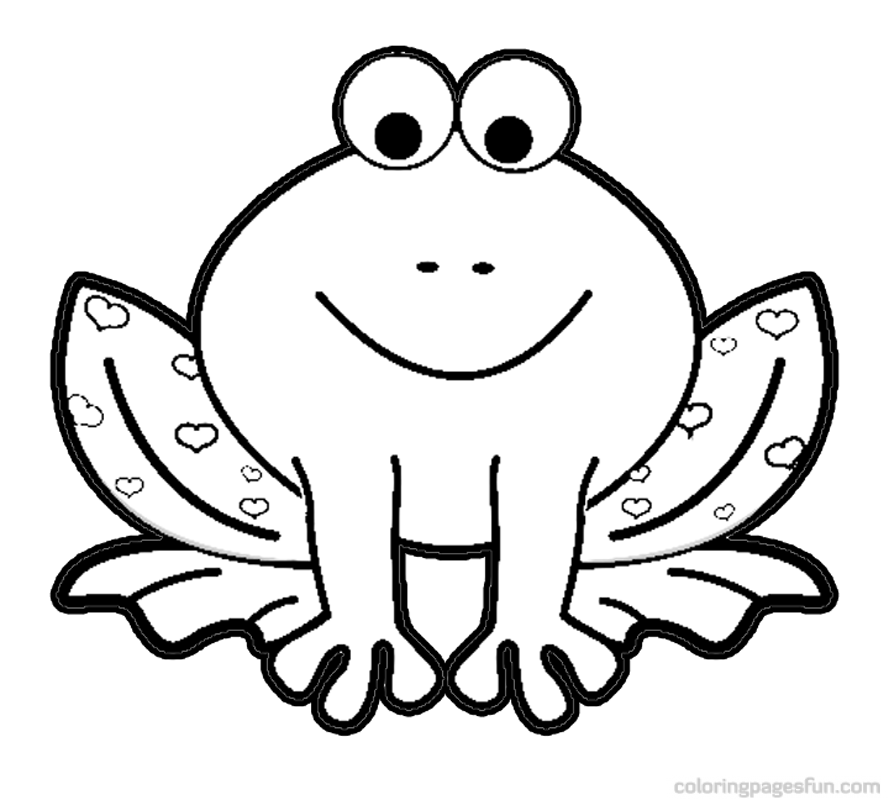frog coloring pages free - photo#23