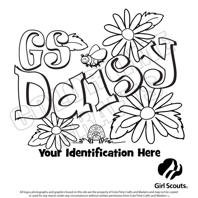 Girl scout daisy printables just b cause for Girl scout coloring pages for daisies
