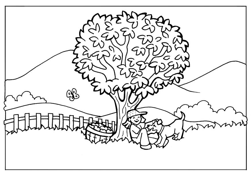 Nature Coloring Pages Pdf : Nature coloring pages free page site az