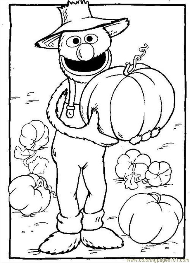 the gallery for gt grover face coloring page
