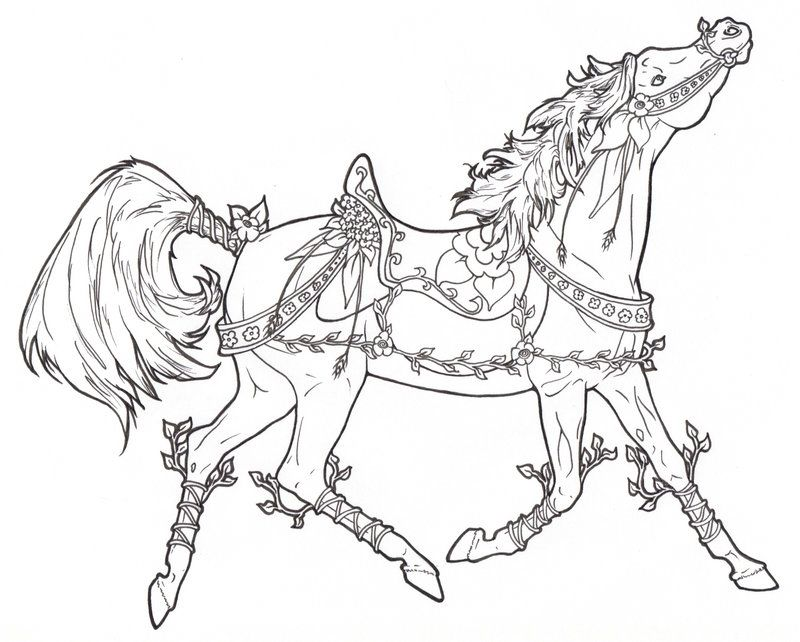 Carousel Horse Aquatica by ReQuay on deviantART