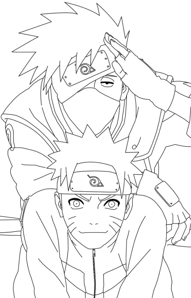 Naruto Coloring Pages To Print - Coloring Home