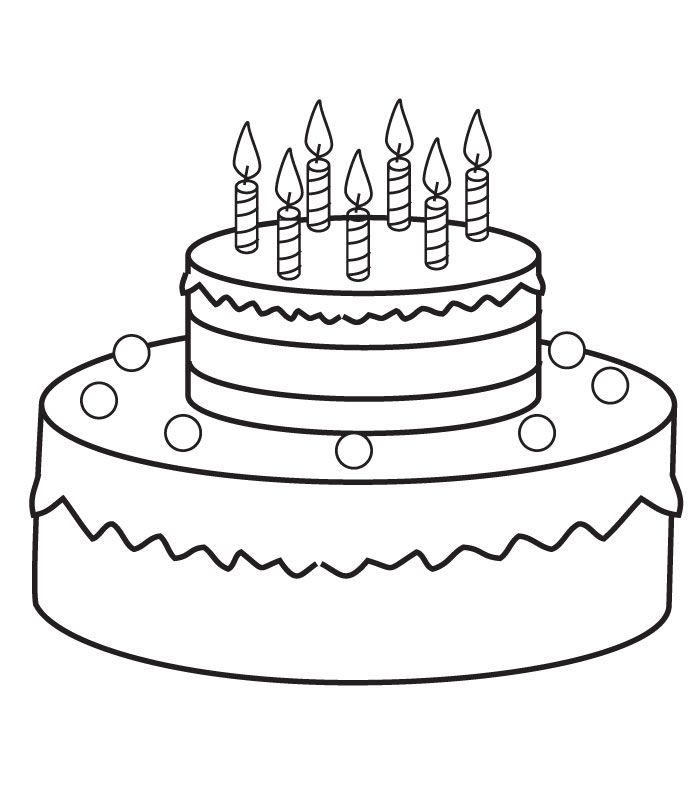 Search Results » Birthday Cake Coloring Pages