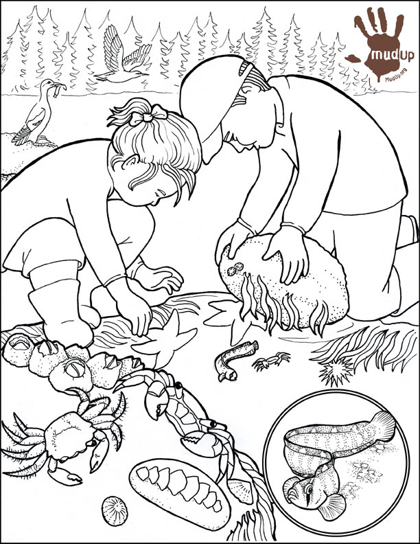 Water Pollution Coloring Pages AZ