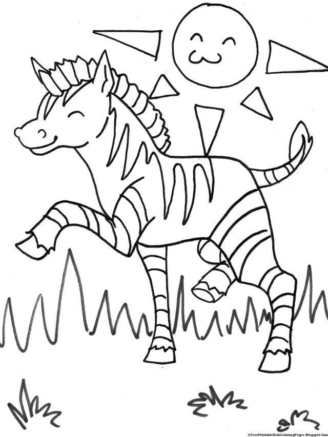 Tiger Of Africa Coloring Pages Printable For Kids 269351 Africa