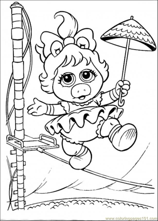 Muppet Babies Coloring Pages - Free Printable Coloring Pages