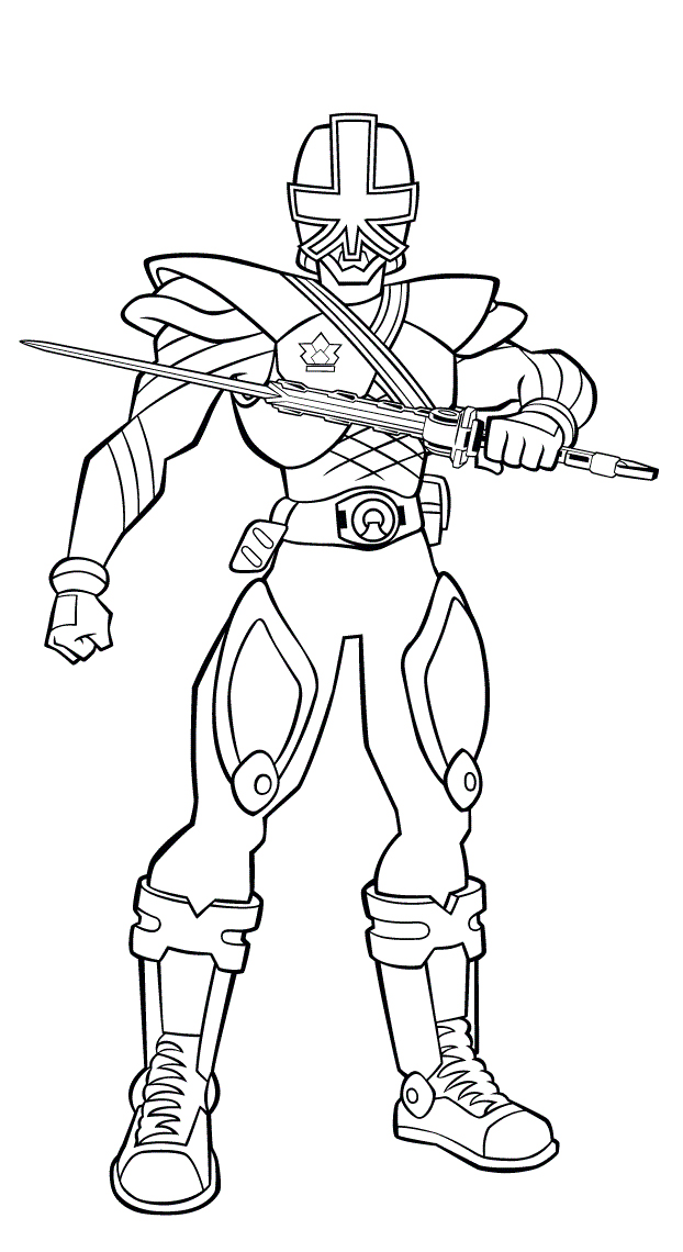 power ranger coloring pages printable - photo#3