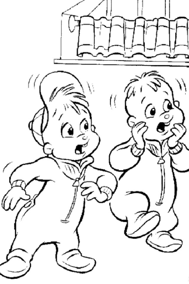 the chipettes coloring pages free - photo#24