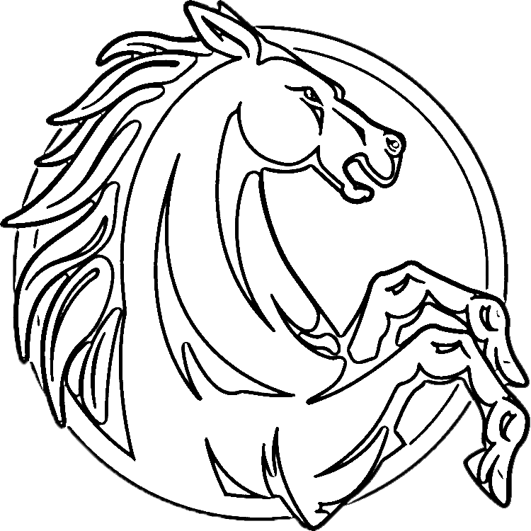 head coloring pages - photo#21