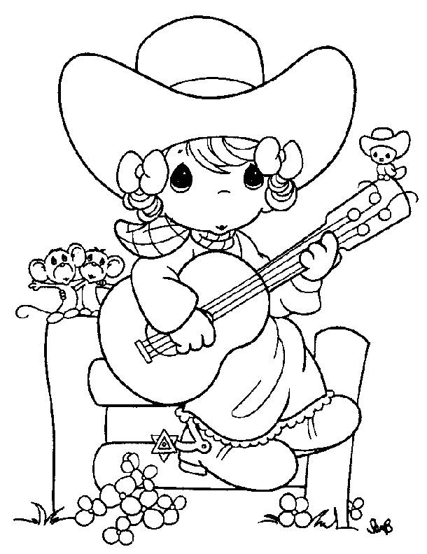 precious moments coloring pages cow - photo#17