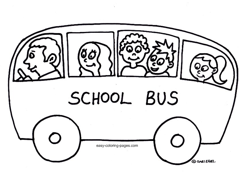 Magic School Bus Drawing Magic School Bus Coloring