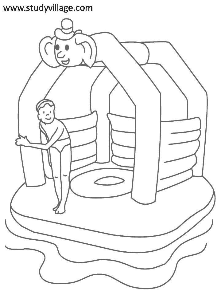 Fun Summer Coloring Pages Coloring Home