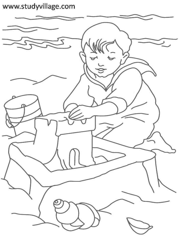 Holiday printables for kids coloring home for Coloring pages for the holidays